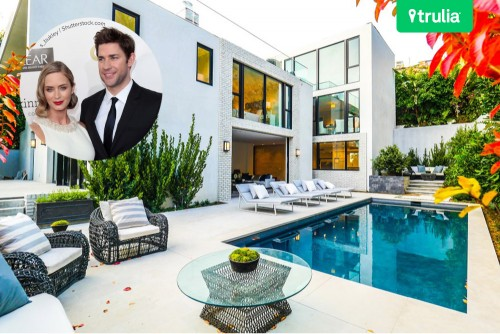 John Krasinski and Emily Blunt List Los Angeles Home for Sale