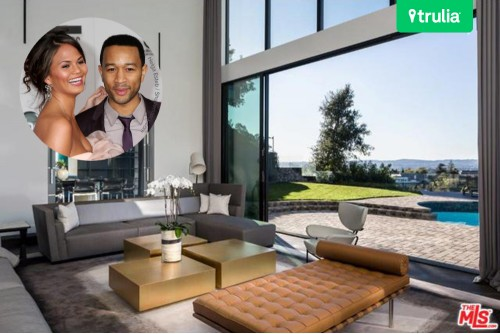 John Legend and Chrissy Teigen Beverly Hills Real Estate