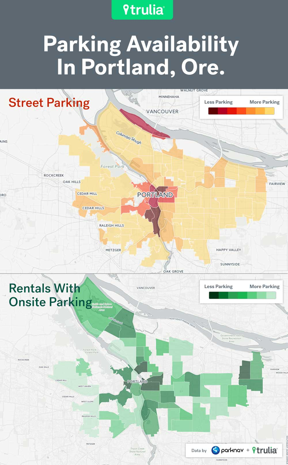 Best And Worst Places For Renters To Park In The Big City Trulias