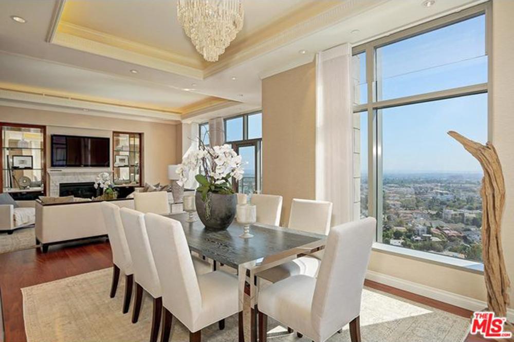 Yolanda Foster House Los Angeles CA Real Estate Dining Room