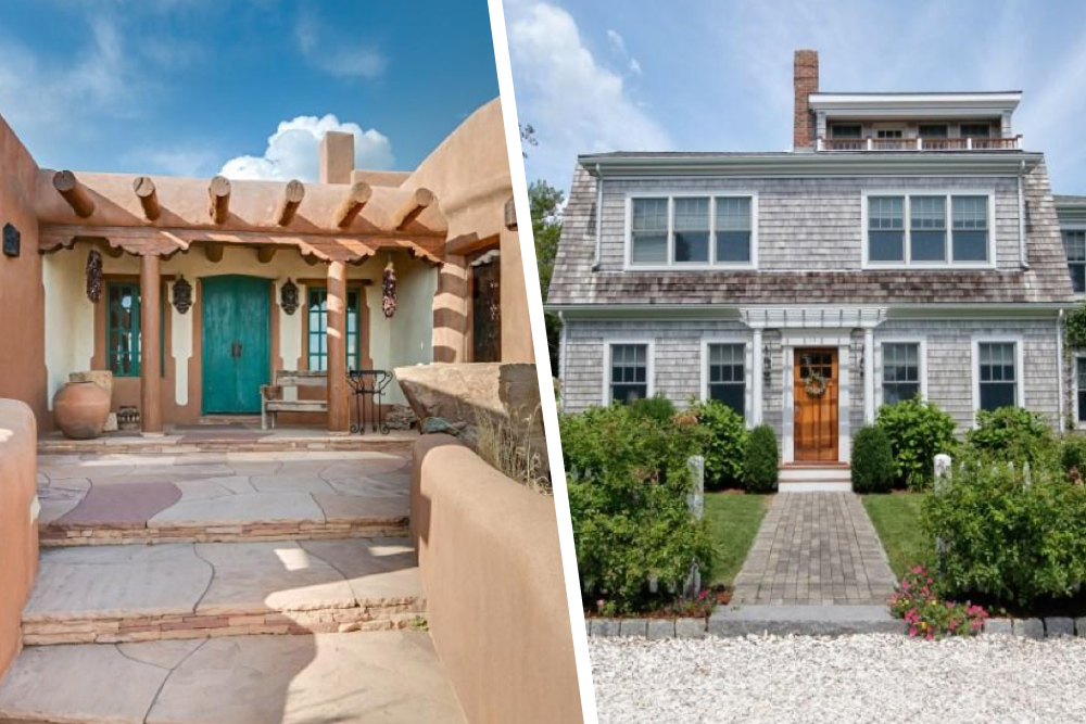 Adobe And Cape Cod House Styles
