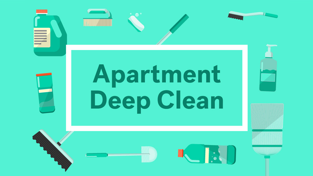 apt cleaning checklist what to clean before moving into your new