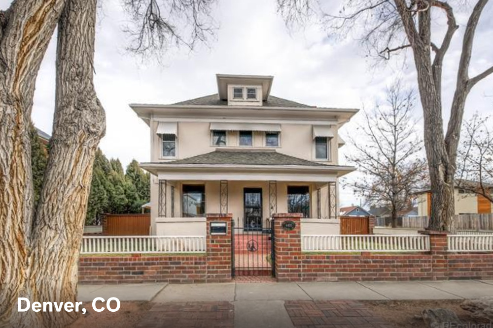Famous houses for sale in Denver CO