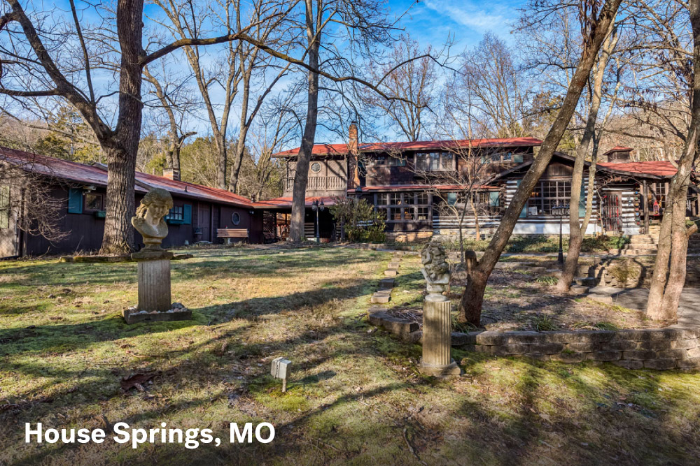 Famous houses for sale in House Springs, MO