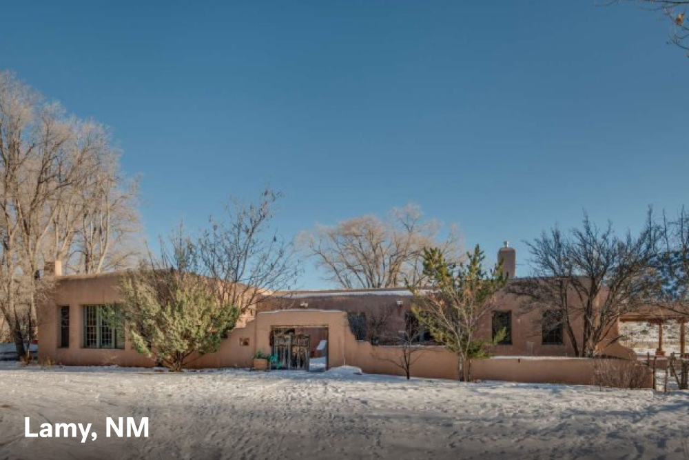 Famous houses for sale in Lamy, NM