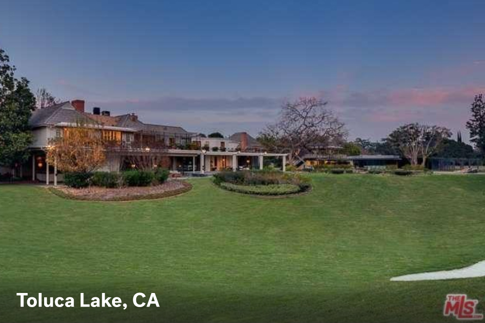 Famous houses for sale in Toluca Lake, CA