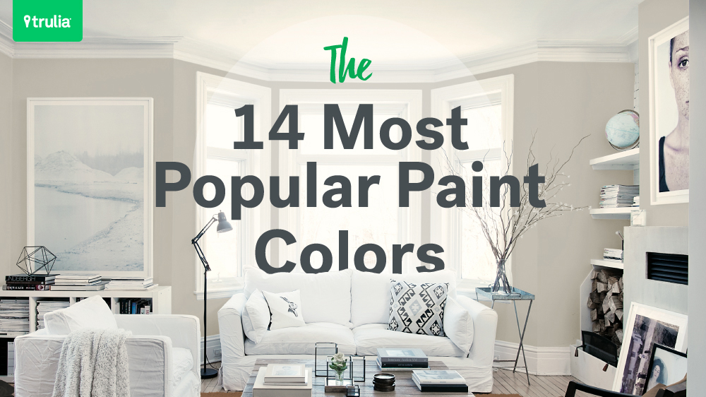 48 Popular Paint Colors For Small Rooms Life At Home Trulia Blog Awesome Home Painting Ideas Interior Color Set