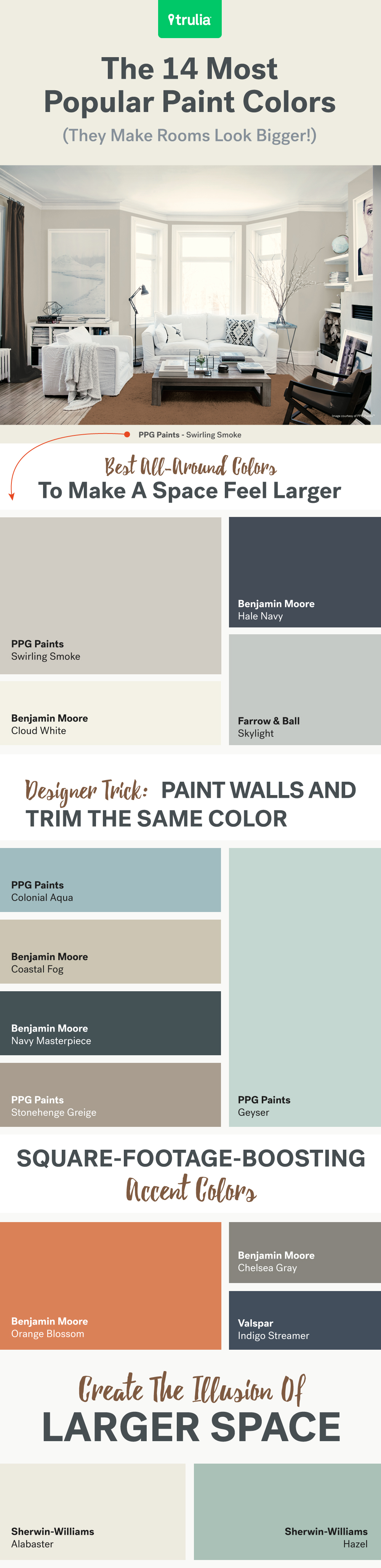 14 Por Paint Colors For Small Rooms Life At Home