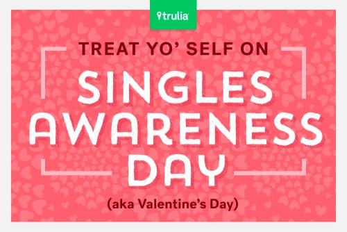 Valentines Day Graphic Trulia's Treat Yo' Self Index