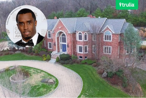 P Diddy House For Sale in Alpine NJ