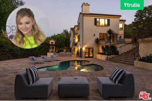 Chloe Moretz House In Studio City CA