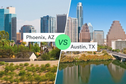 austin real estate and phoenix real estate markets