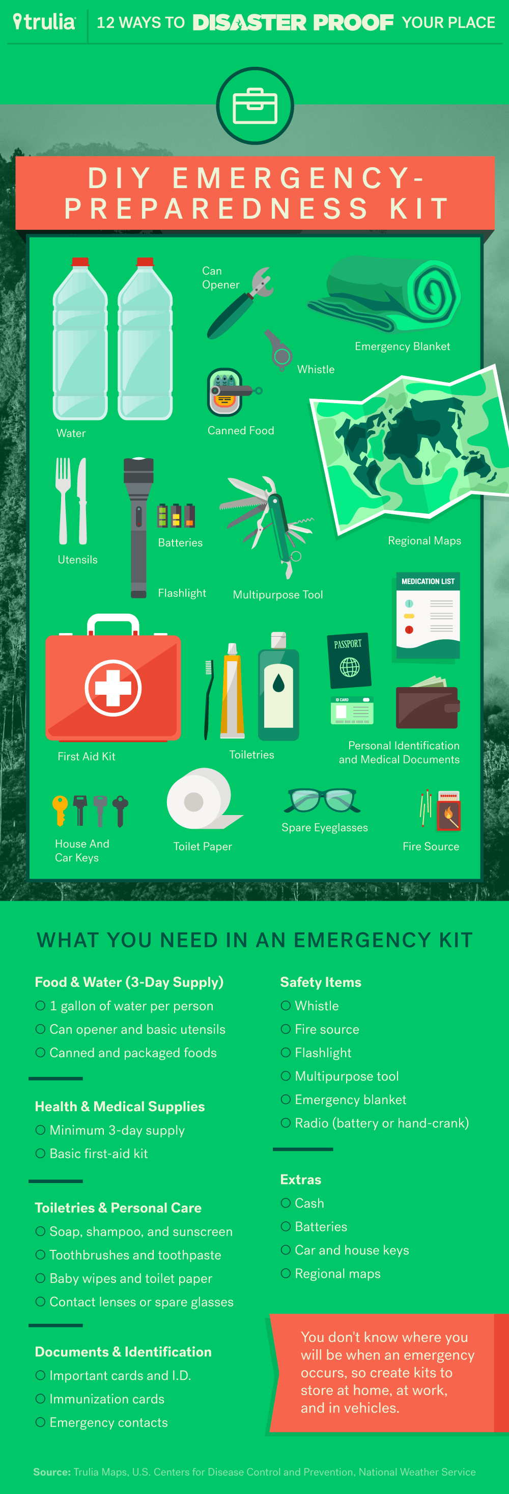 ways to prepare home for natural disaster