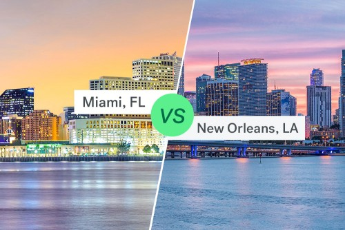 Miami Real Estate vs New Orleans Real Estate
