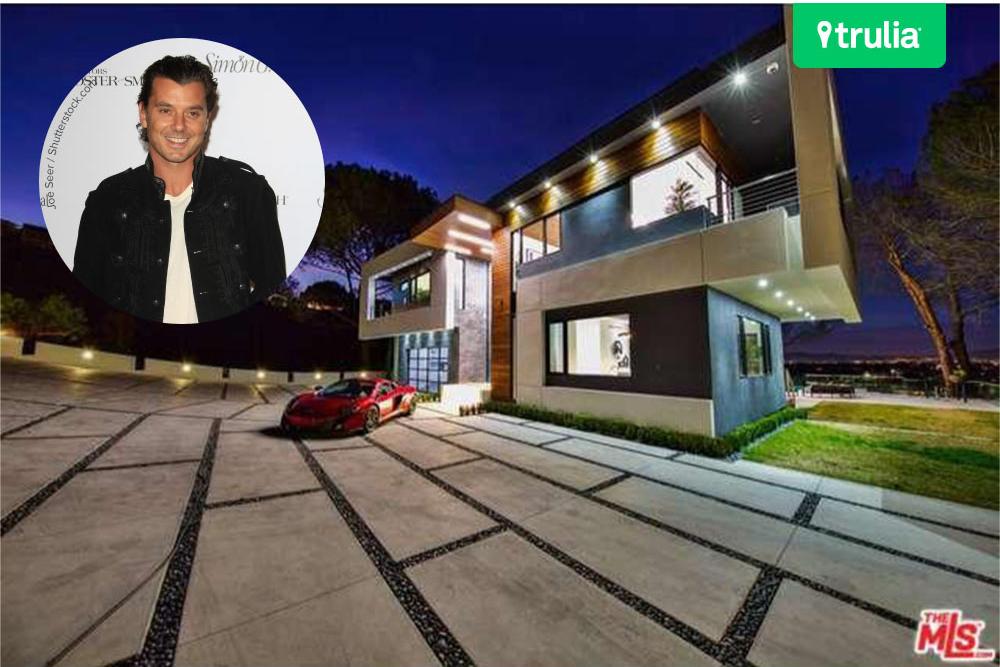 Gavin Rossdale New House In Studio City CA