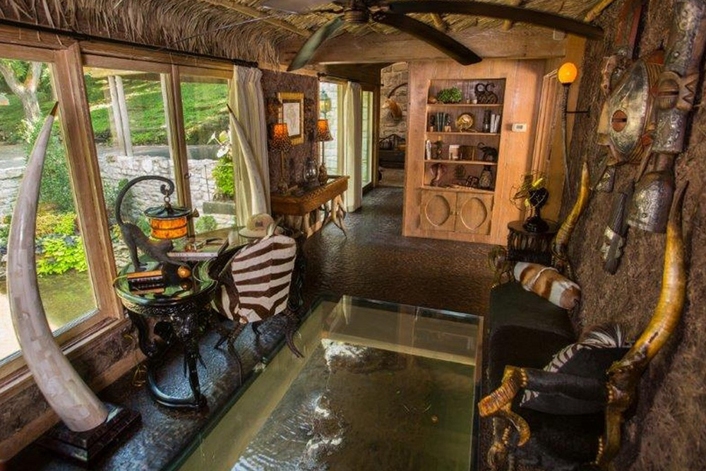 found on trulia african decor meets luxury home design