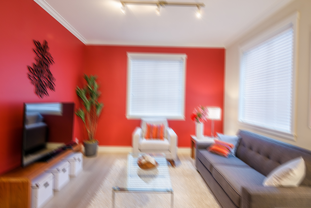 real estate photography blurry photo