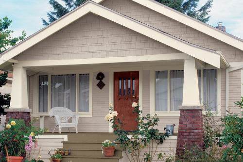 The most popular exterior paint colors life at home - Best exterior color for small house ...
