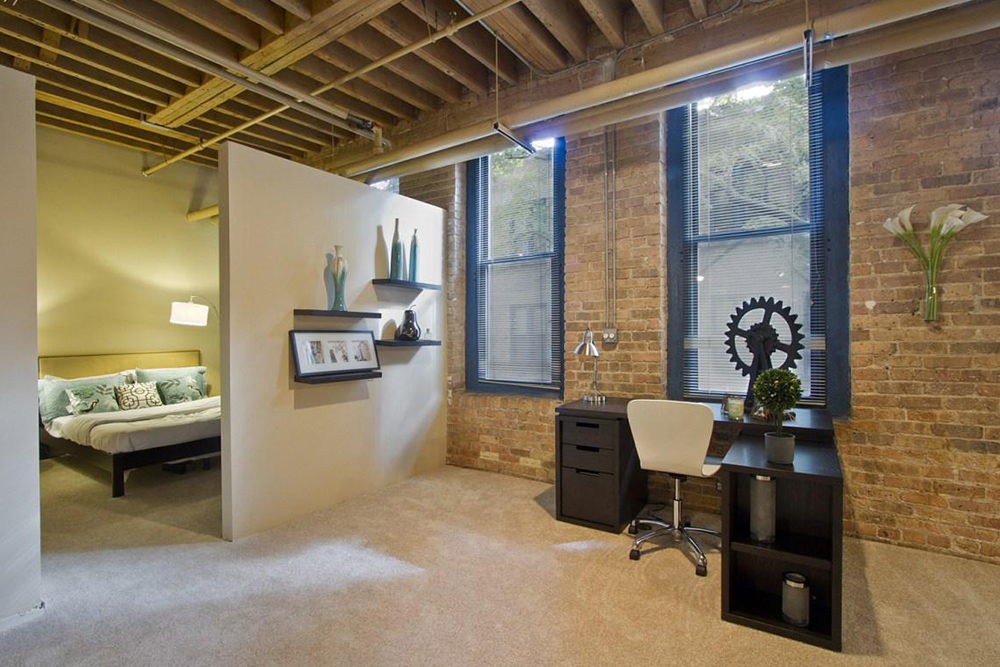 Find An Apartment Steeped In History: 9 Industrial-Chic