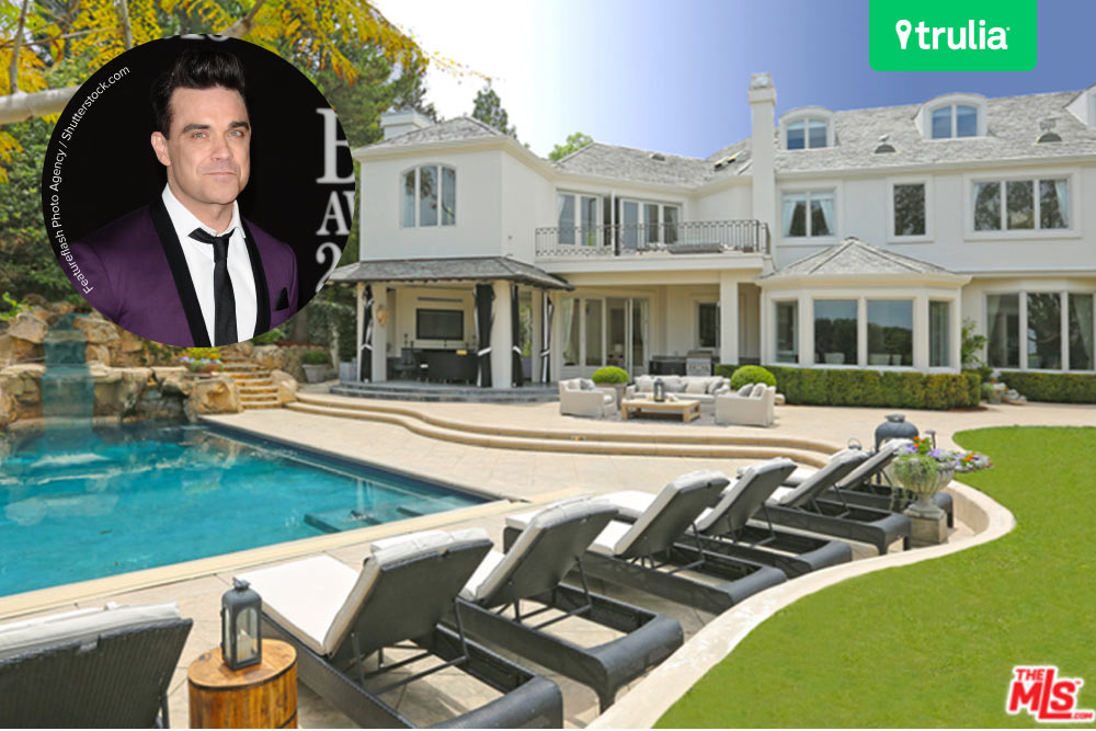 Robbie Williams House Beverly Hills CA