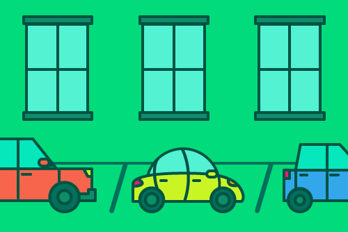 places to find parking in an apartment