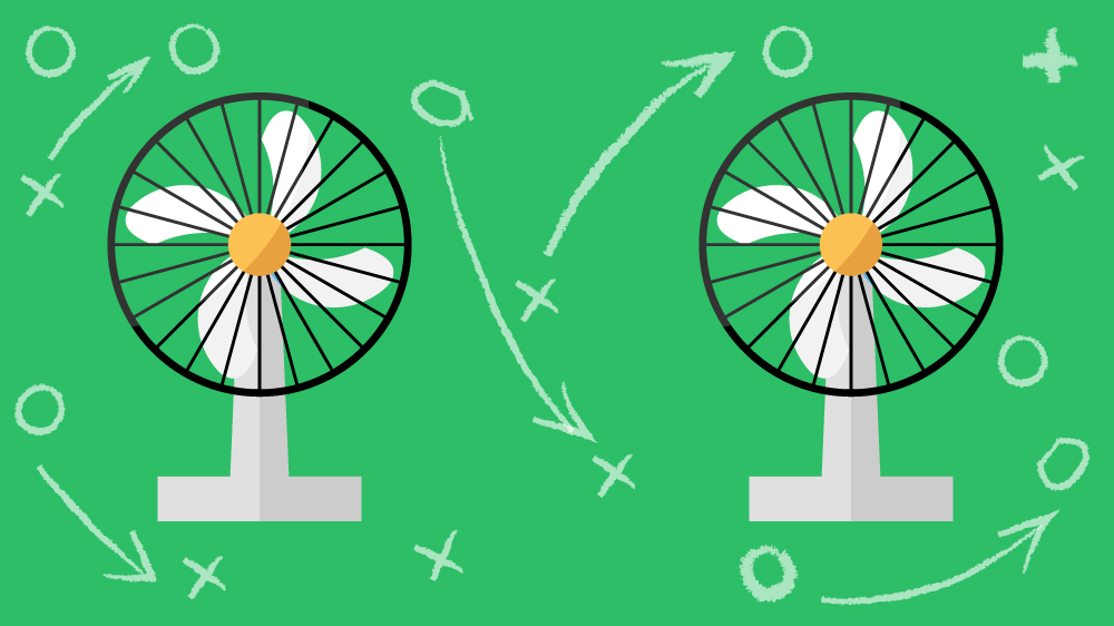 Illustration Of Fan, How To Cool Down A Room