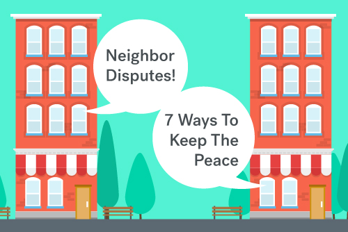 animated solution to disputes with neighbor notes