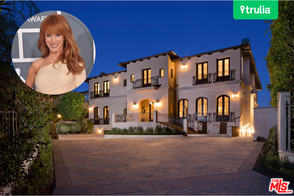 Kathy griffin house purchase in los angeles ca for California los angeles houses