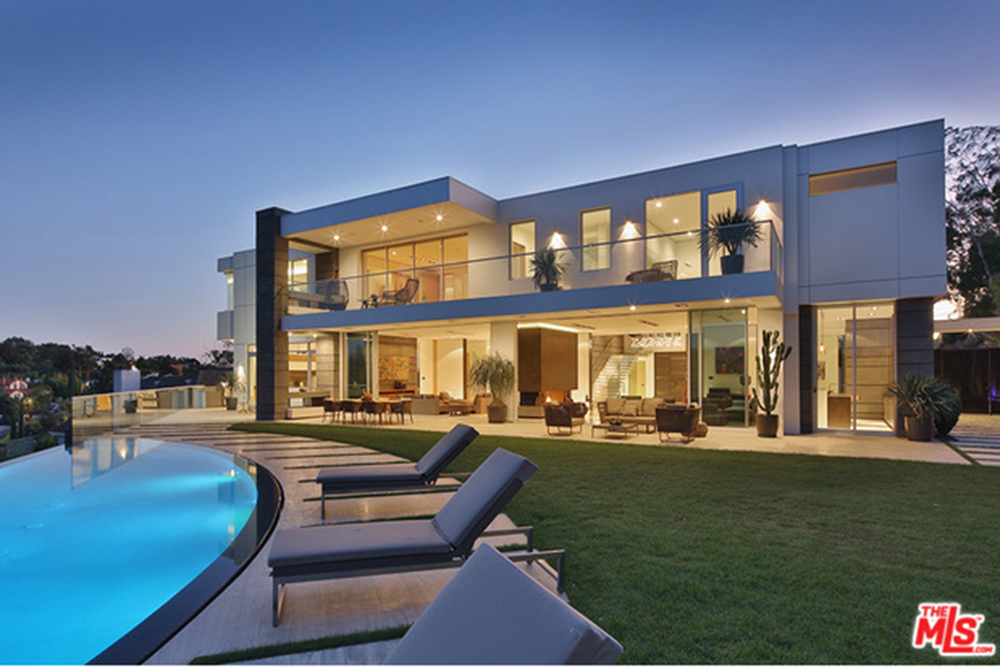 The new l a reid house in los angeles ca celebrity for Houses for sale in la ca