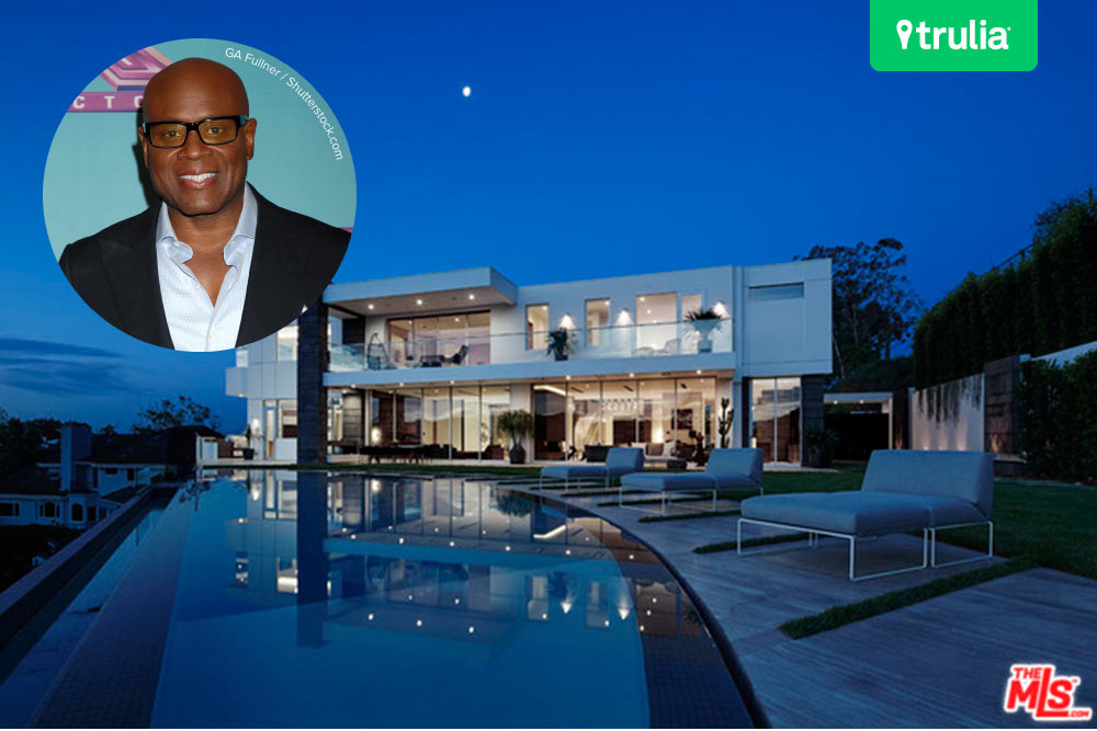 L.A. Reid House In Los Angeles, CA
