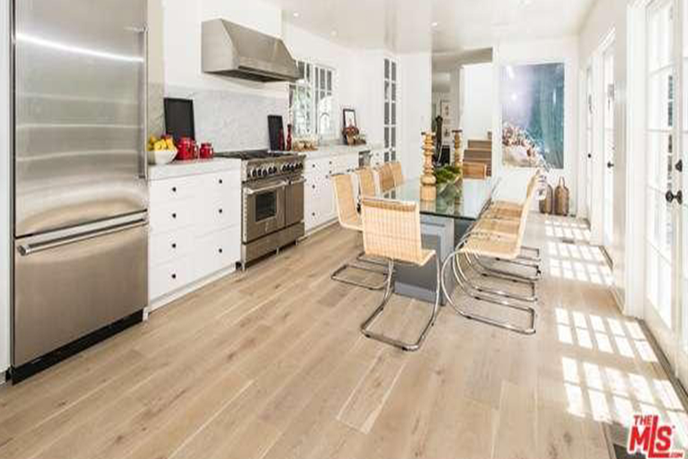Niall Horan One Direction Luxury House In LA kitchen