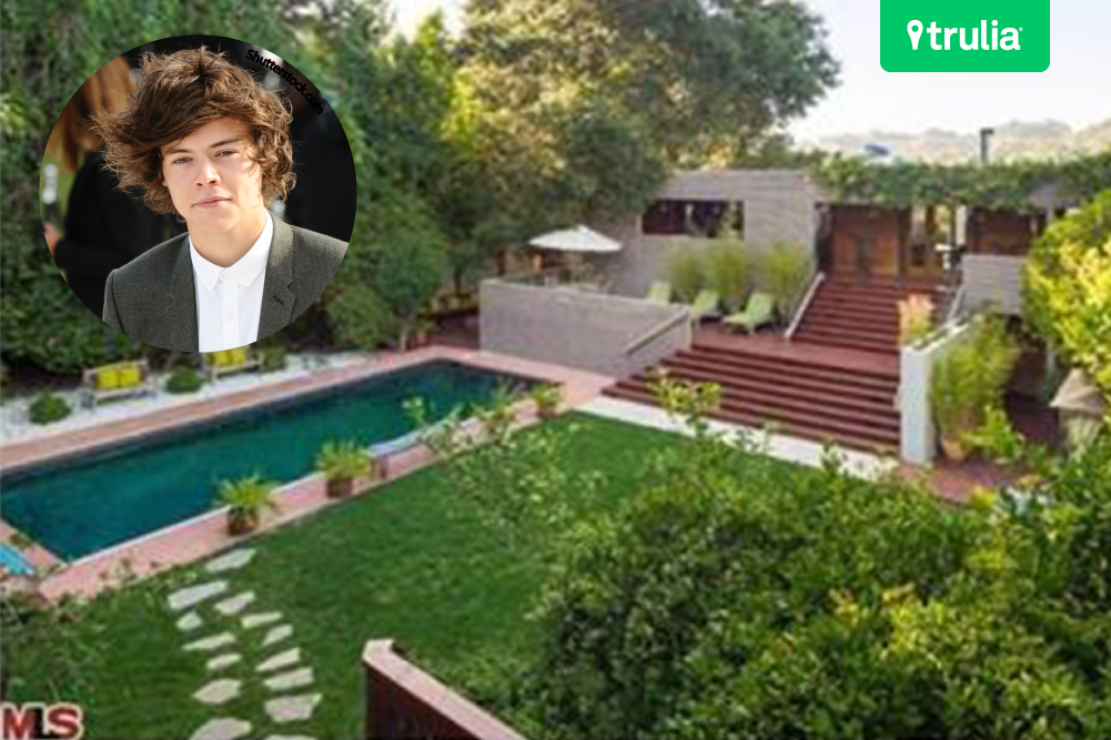 Harry Styles One Direction Luxury House In Beverly Hills