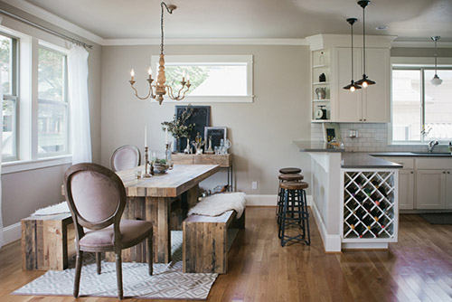 quality furniture in kitchen