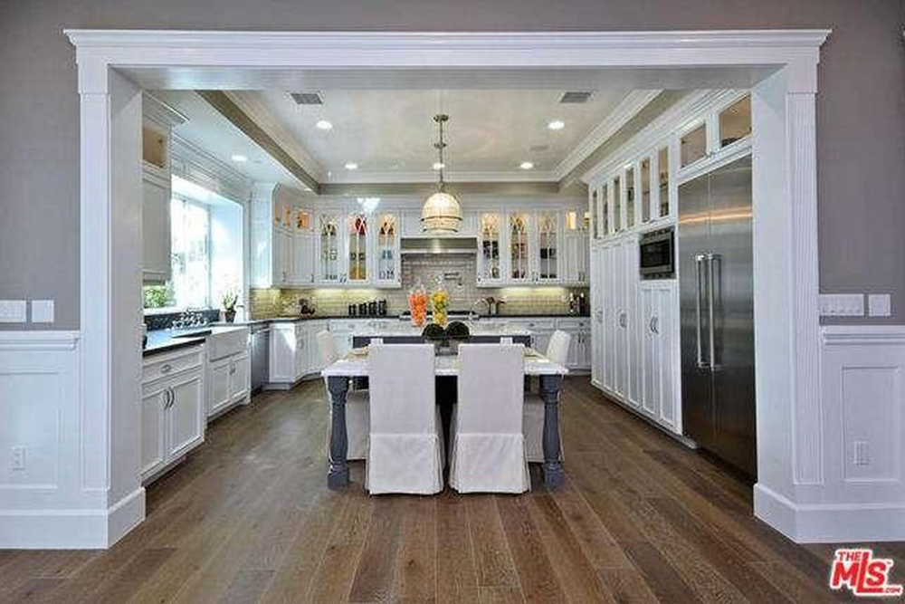 Ashley Tisdale Lists Home For Sale In Studio City CA Kitchen