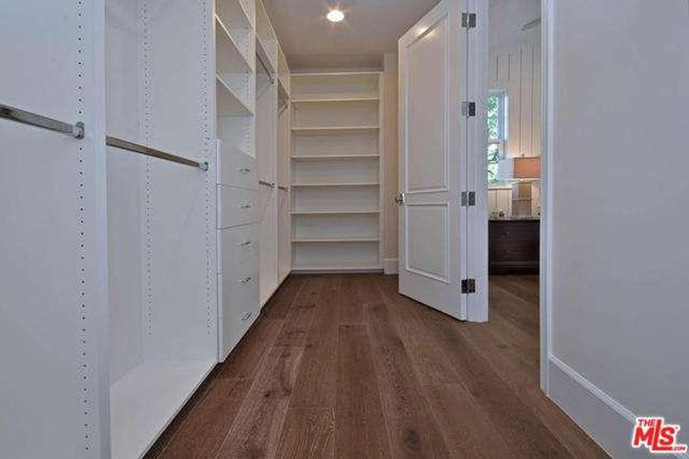 Ashley Tisdale Lists Home For Sale in Studio City CA Closet