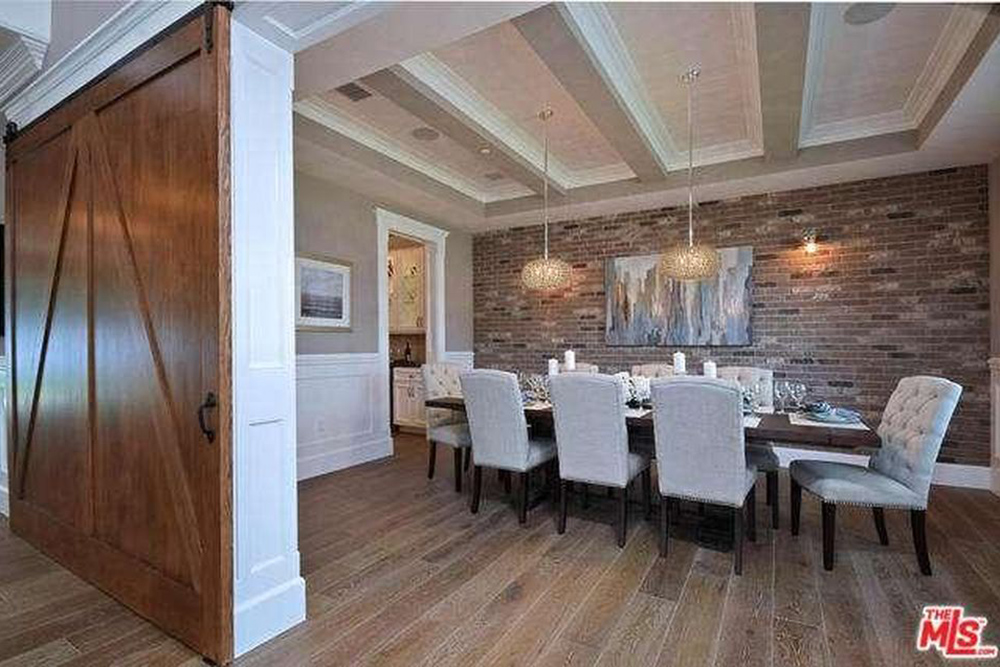Ashley Tisdale Lists Home For Sale In Studio City CA Dining Room