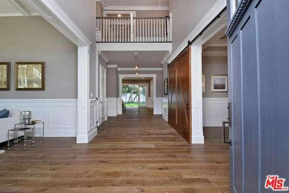 Ashley Tisdale Lists Home For Sale In Studio City CA Foyer