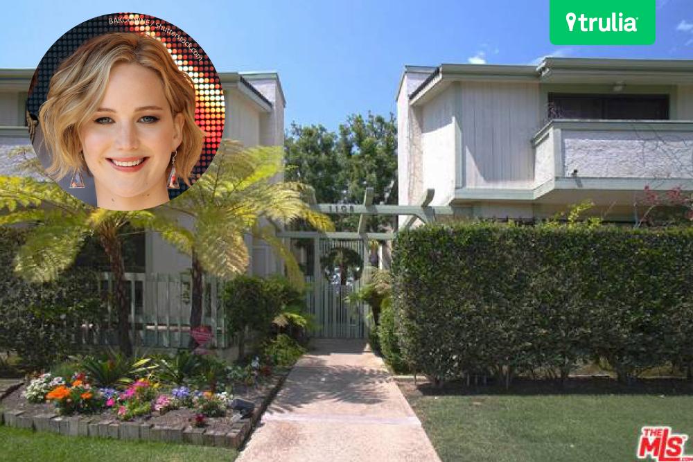 Jennifer Lawrence House In Santa Monica CA