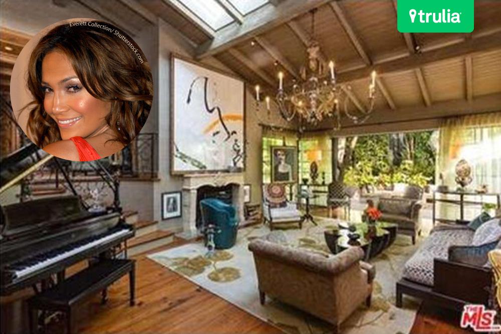 Jennifer Lopez House in Los Angeles, CA Pinterest