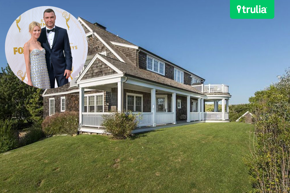 Liev Schrieber and Naomi Watts new home in the Hamptons