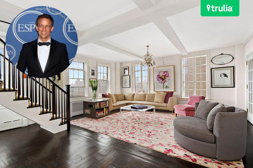 Late Night Seth Meyers Living Room
