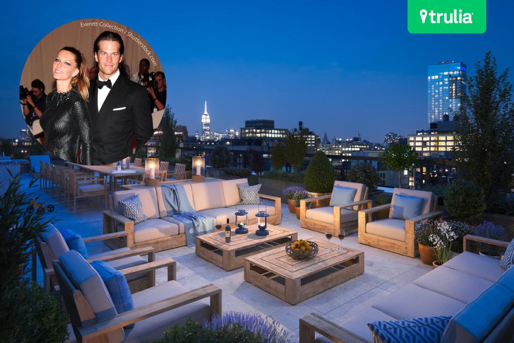 Tom Brady apartment Manhattan