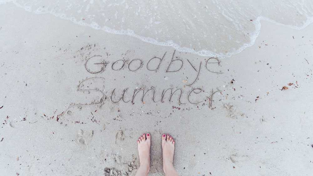how to declutter at the end of the summer