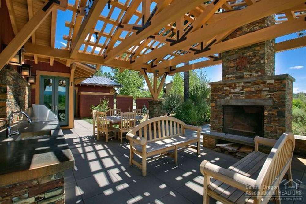 outdoor kitchens bend or