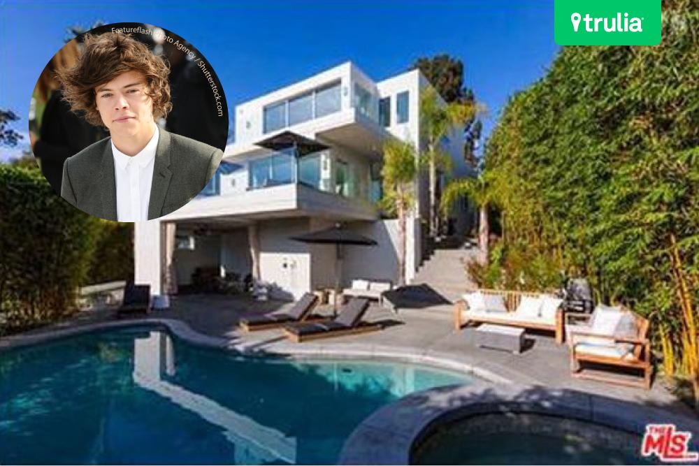 Harry Styles Hero Modern Dream House West Hollywood
