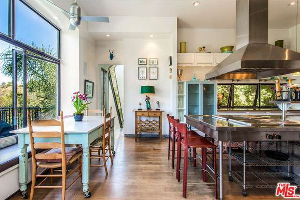 The Chainsmokers Alex Pall Buys In LA breakfast nook