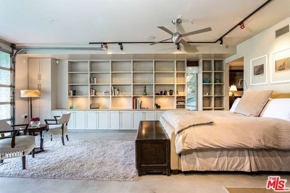 The Chainsmokers Alex Pall Buys In LA white master bed