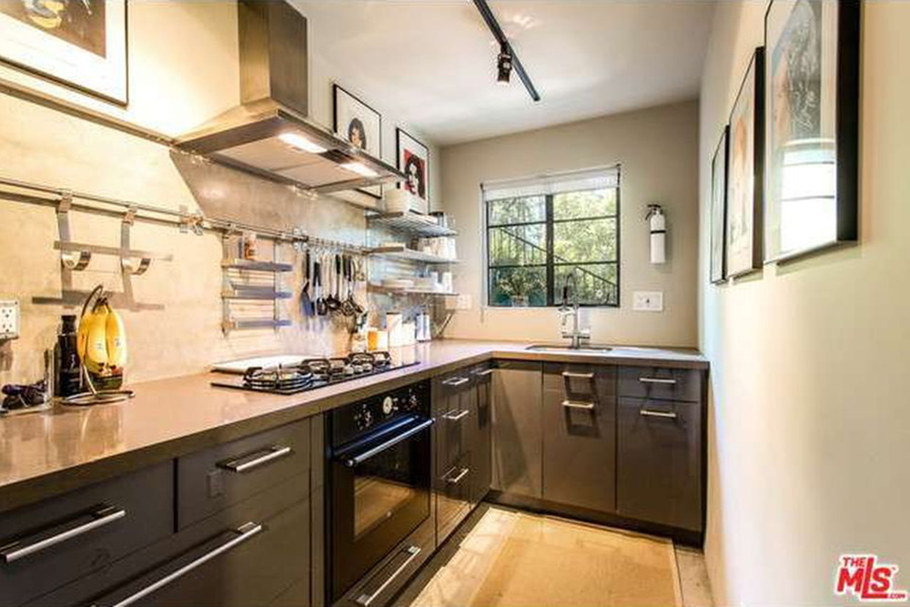 The Chainsmokers Alex Pall Buys In LA side kitchen