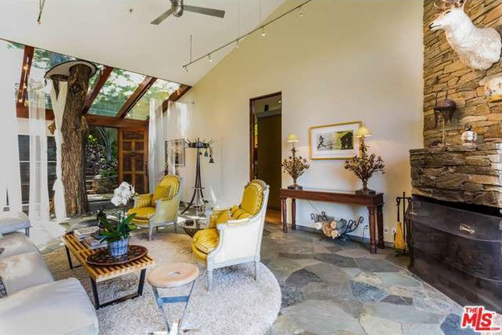 The Chainsmokers Alex Pall Buys In LA tree in house