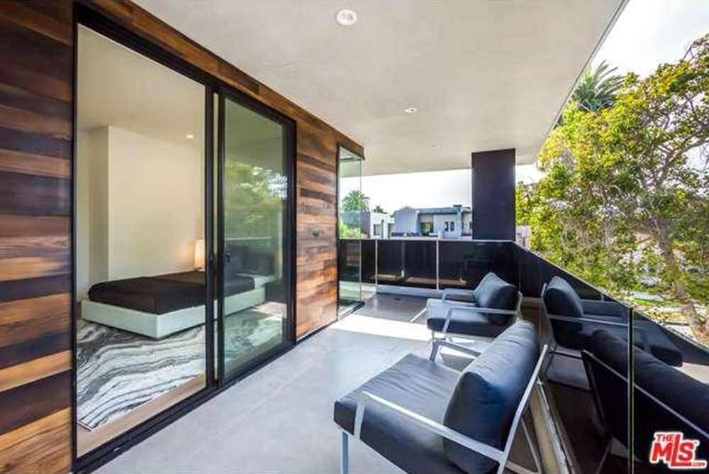 The Chainsmokers Drew Taggart Buys House In Los Angeles CA Balcony